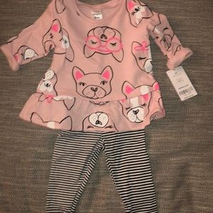 New! Carter's baby girls outfit